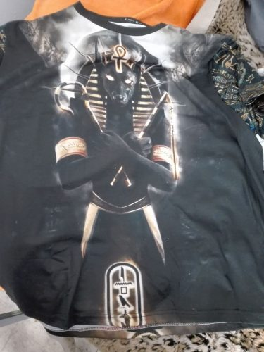 Anubis God 3D All Over Printed Clothes NC08 photo review