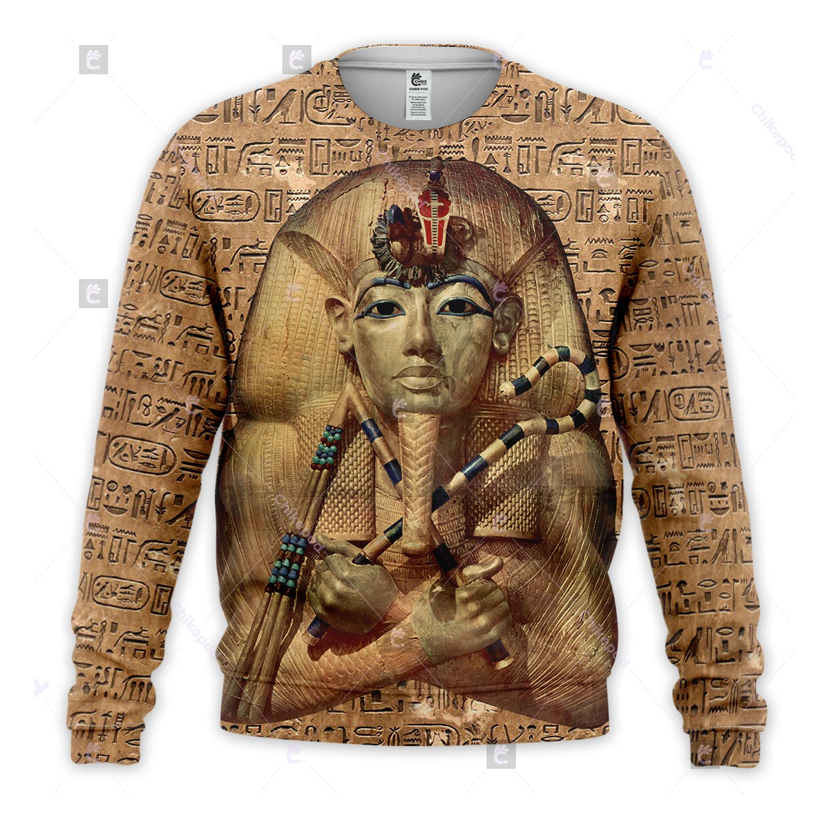 King Tutankhamun 3d All Over Printed Clothes Dt40 Chikepod