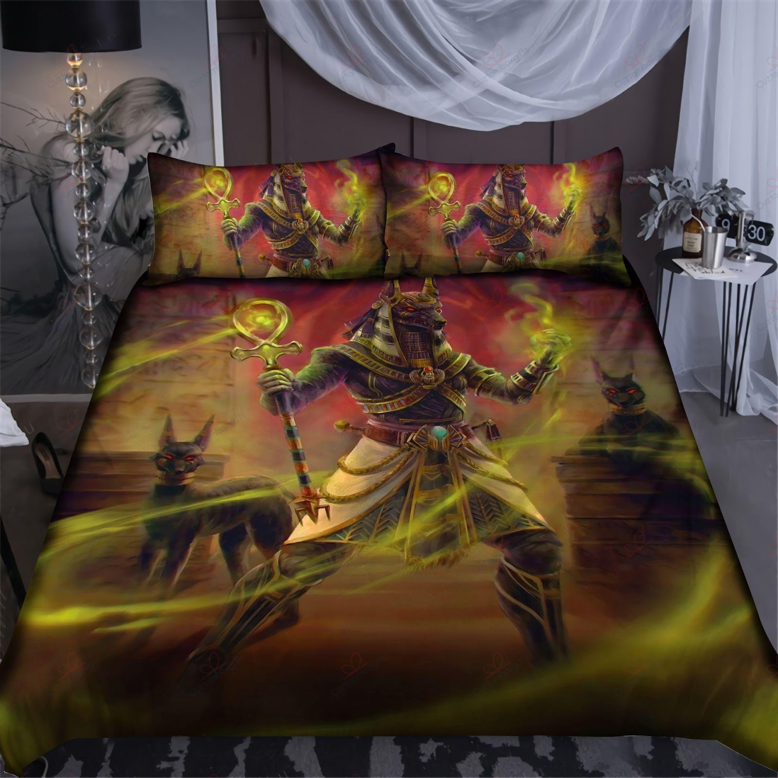 Ancient Egyptian Bedding Set Sp108 Chikepod