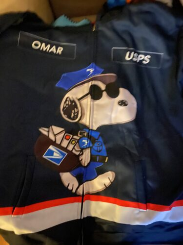 Personalized Name Snoopy Mail Carrier Love USPS 3D All Over Printed Clothes HK254 photo review